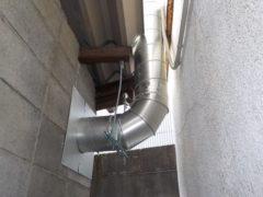 耐圧防爆型換気扇取付工事