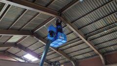 某鉄工所にて各種設備工事を行いました!